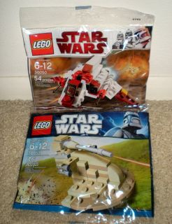 star wars lego mini republic shuttle 30050 lot 30052 aat