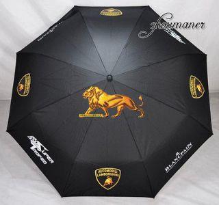 Auto Open Close LAMBORGHINI Super Windproof Umbrella