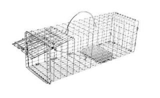 Humane Live Animal Trap Chipmunk Gopher Rat Muskrat Size 16x5x5