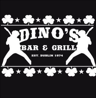 thin lizzy homage t shirt phil lynott dino s bar