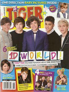 Tiger Beat June 2012 One Direction 1D Selena Gomez BTR Justin Bieber