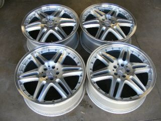 20 BRABUS MONOBLOCK STYLE MERCEDES BENZ WHEELS RIMS AMG ML S500 E320