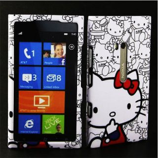 Case for Nokia Lumia 900 Hello Kitty I AT&T Cover Skin Holster Pouch