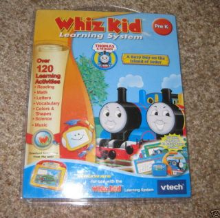 whiz kid learning system pre k thomas and friends new