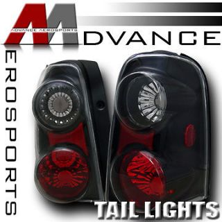 3D* Style JDM Blk Housing Clear Lens Altezza Tail Lights 2001 2007