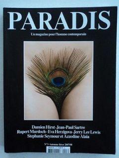 2007 PARADIS 3 JUERGEN TELLER + LILY COLE Damien Hirst Stephanie