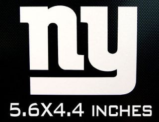 NEW YORK GIANTS NY Logo * Wall Window STICKER * Vinyl Car DECAL * ANY