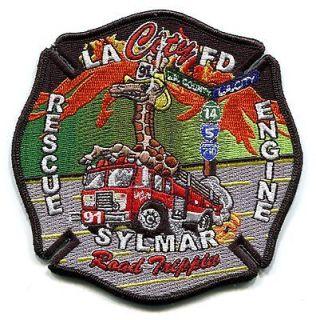 CALIFORNIA   LOS ANGELES CITY FIRE   ENGINE RESCUE 91   SYLMAR   EMS