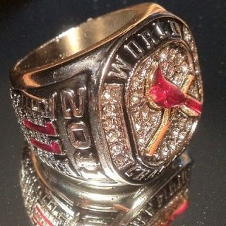 St. Louis Cardinals 2011 World Series Champions Replica Ring NIB