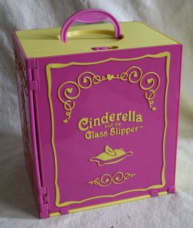Little Tikes CINDERELLA GLASS SLIPPER Doll House Only People Doll