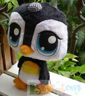 Littlest Pet Shop LPS 9 LITTLE Penguin~~ Plush toy best gift play