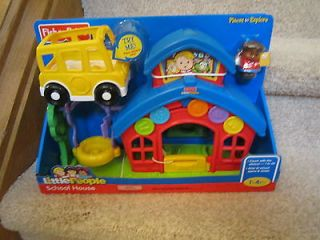 Fisher Price Little People 2008 Play N Go Anniversary School House