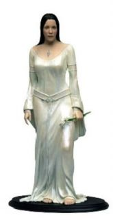 Lord of the Rings Arwen Evenstar Statue Figure White Dress SIDESHOW