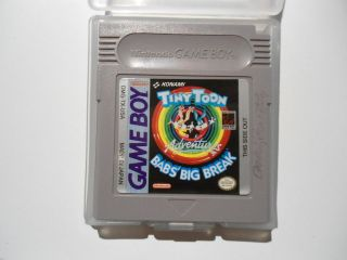 Tiny Toon Babs Big Break Game Cart Only MINT  Game Boy GB Color