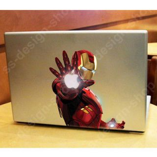 Iron Man Marvel Heroes Decal Sticker Skin for Macbook Pro Air Unibody