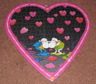 RARE HEYE   MORDILLO 215 pc LOVE PUZZLE Valentines Day *LOVE HURTS