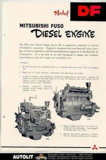 mitsubishi diesel engines in Business & Industrial