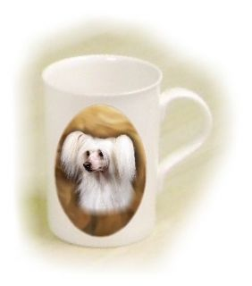 Chinese Crested Powder Puff Dog Fine Bone China Mug By Starprint