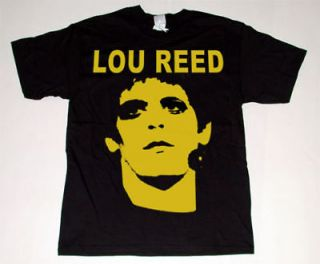 lou reed t shirt sz lrg rock animal velvet underground