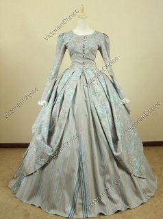 Victorian Gothic Lolita Dress Ball Gown Reenactment Prom 156 L