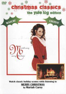 Mariah Carey   Merry Christmas DVD, 2009, The Yule Log Edition