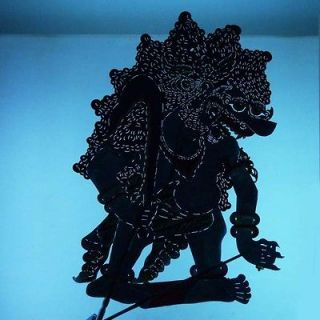 Indonesia Schattenspielf​igur Javanese Marionette Shadow Puppet ct28
