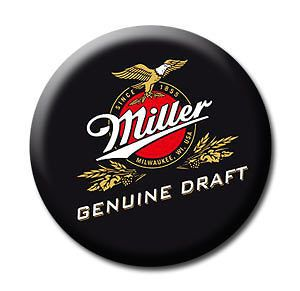 miller high life beer logo fridge magnet 4 time left