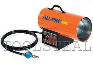 ALL PRO SPC 40 PORTABLE PROPANE FORCED AIR HEATER SPC40 SPC 40