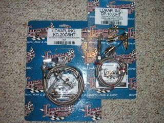 lokar ford c6 c 6 24 throttle kickdown cable kits