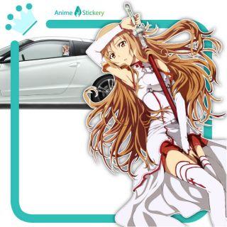 sword art online asuna anime car decal sticker 002 from