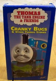 thomas the tank engine friends cranky bugs vhs video  15 00