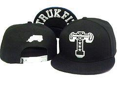 TRUKFIT Exquisite embroidery hip hop Style Snapback black Dancing