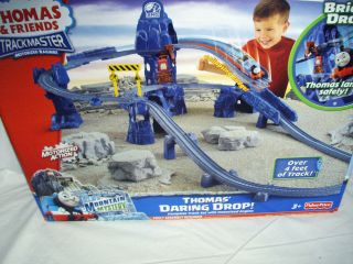 Thomas Engine RISKY RAILS DARING BRIDGE DROP Blue Mountain Mystery