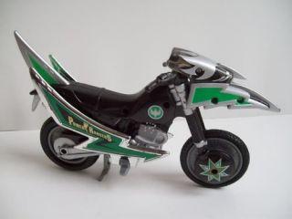 power rangers ninja green ranger motorcycle  12