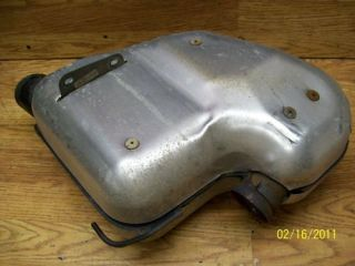 ski doo mxz 700 600 oem exhaust can 6b67a time