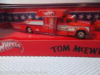 TOM The Mongoose McEWEN(2 Car Set   164) 2011 HOT WHEELS Red Line