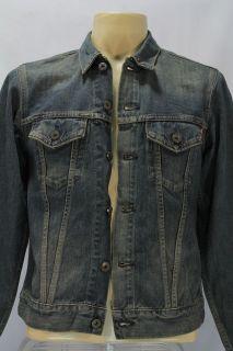 VTG Edwin Denim Work Jacket Blue Jeans Sz M Combine Shipping Discount