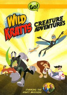 wild kratts creature adventures dvd 2011 2 disc set