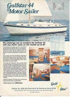 1974 gulfstar 44 motor sailer color ad specs time left