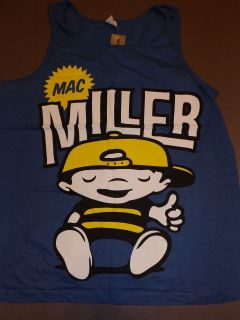 MAC MILLER Chillin Chilling Tank Top T Shirt band concert tour music