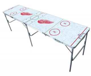Detroit Red Wings NHL 2 x 8 Multi Purpose Folding Tailgate Party