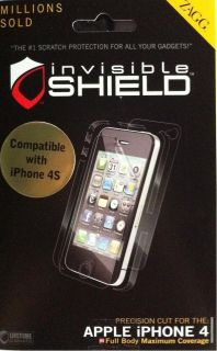 invisible shield iPhone 4 S FULL BODY MAX Maximum screen protector