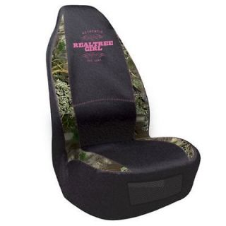 realtree girl max 1 camo pink universal seat cover car