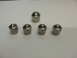 Norton Commando, Dominator Stainless Steel Rocker Cover Nuts (x5)