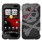 Nifty Butterfly Bling Case Cover HTC Droid Incredible 2