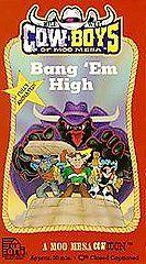 Boys of Moo Mesa   Bang Em High VHS, 1994
