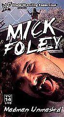 WWF   Mick Foley Madman Unmasked VHS, 2000