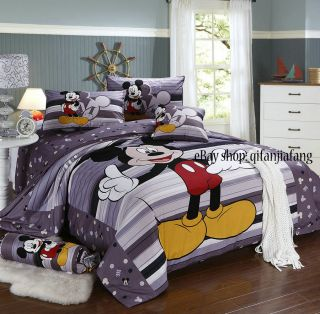 stunning disney mickey mouse full 8pc comforter in a bag highly recomm