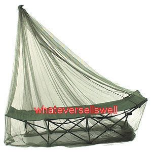 compact olive single travel mosquito net insect midge time left