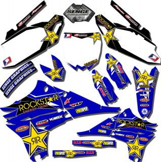 2010 2011 2012 YZ 450F GRAPHICS KIT YZ450F YAMAHA DECALS DECO STICKERS